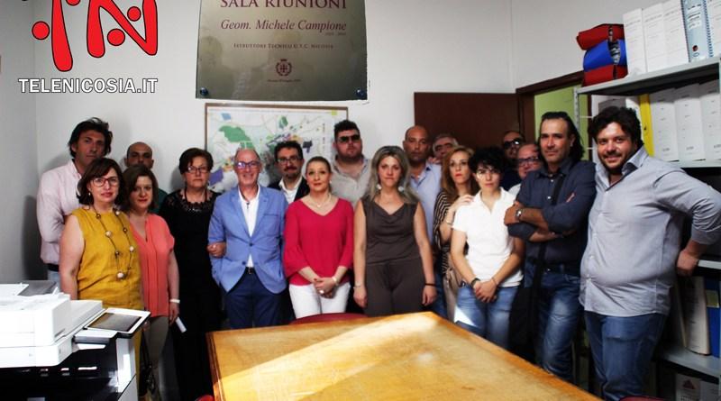 Ricordato a Nicosia Michele Campione, dedicata a suo nome la sala riunioni dell'ufficio tecnico comunale – VIDEO