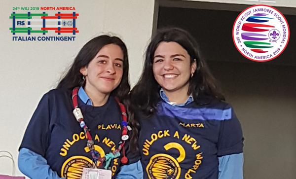 Flavia e Marta Bertocchi rappresenteranno gli scout di Nicosia al 24° Jamboree Mondiale Scout negli Stati Uniti