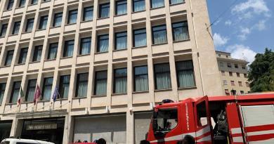 Roma, esplosione in hotel: 3 operai feriti