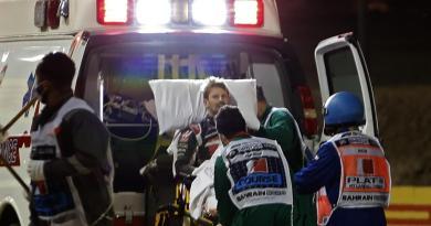 Grosjean in ospedale dopo incidente Bahrain, come sta