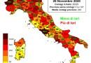 Coronavirus. In Italia il 28 novembre nelle ultime 24 ore i nuovi contagi sono 26.323, i decessi sono 686