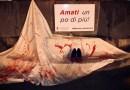 """A Nicosia per la """"Giornata internazionale contro la violenza sulle donne"""" DacosaNascecosa ha realizzato sei installazioni – FOTO & VIDEO"""