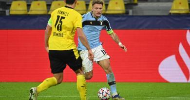 Champions, Borussia-Lazio 1-1: rimonta Immobile