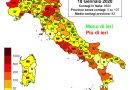 Coronavirus. In Italia il 18 gennaio nelle ultime 24 ore i nuovi contagi sono 8.824 i decessi sono 377