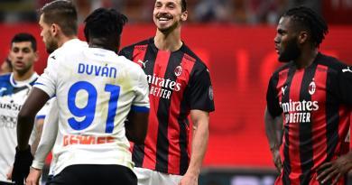 Milan campione d'inverno nonostante il ko con l'Atalanta