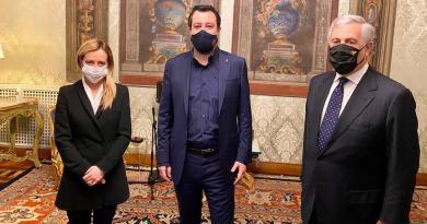 """Centrodestra vede Mattarella: """"Preoccupati per l'Italia"""""""