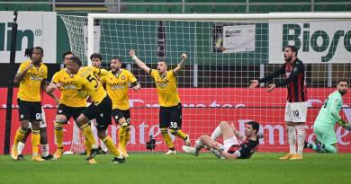 Milan-Udinese 1-1, il Diavolo si salva ma l'Inter può scappare