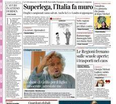 Prime pagine dei giornali di oggi         Martedì 20 Aprile 2021 | Rassegna Stampa Quotidiani