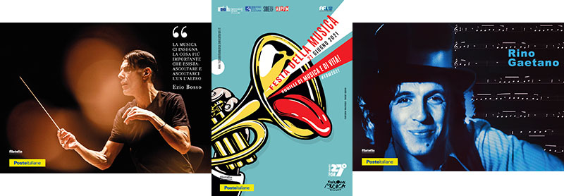Nell'ufficio postale di Enna centro disponibili le cartoline sulla Festa della Musica