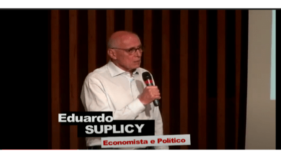 Eduardo Suplicy na semana de Direitos Humanos da FAPCOM