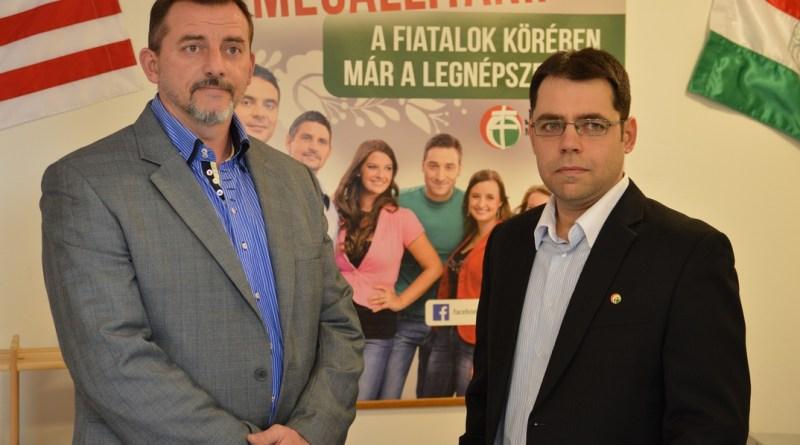 Horváth Zoltán és Gáspár Viktor. Fotó: Szaffenauer Ferenc/Paksi Hírnök