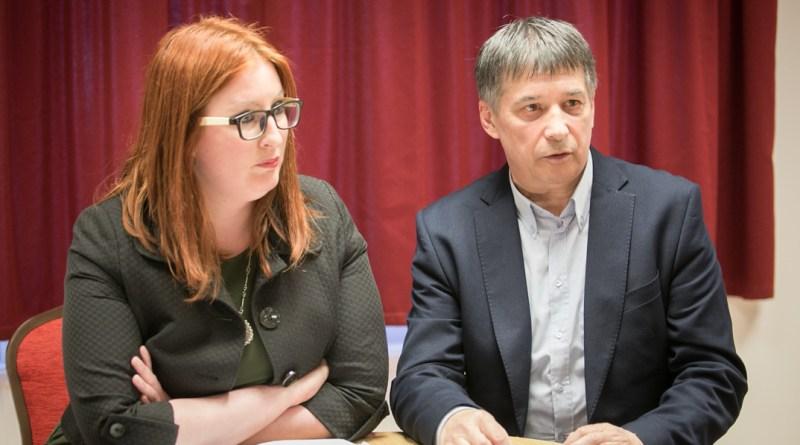 Heringes Anita és Mezősi Árpád. Fotó: Kövi Gergő/Paksi Hírnök