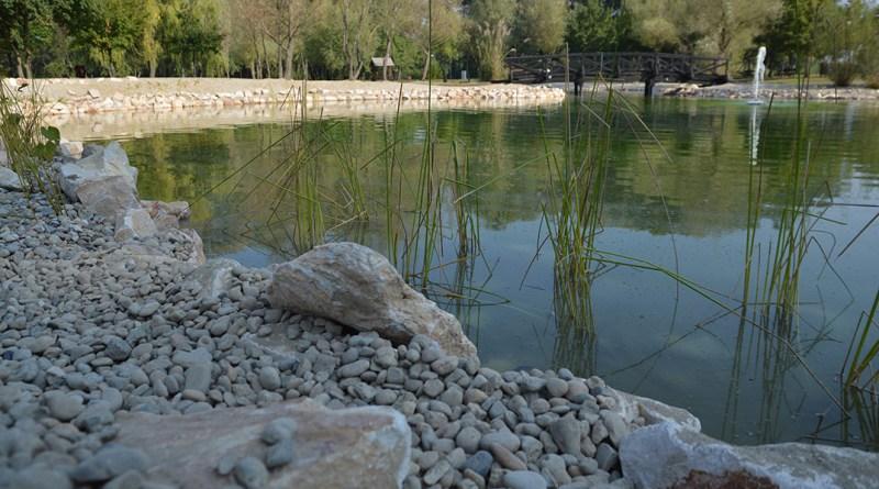 Megújult az ürgemezei tó. Fotó: Szaffenauer Ferenc/Paksi Hírnök