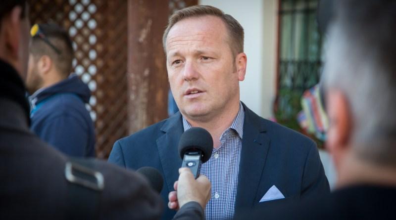 Szabó Péter, a Fidesz paksi alelnöke. Fotó: Kövi Gergő/Paksi Hírnök