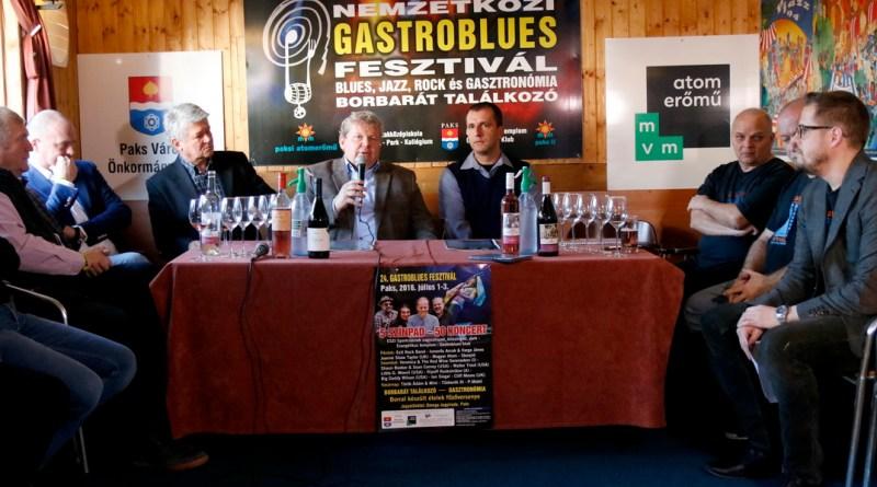 Gastroblues-lemezbemutató. Fotó: Molnár Gyula/Paksi Hírnök