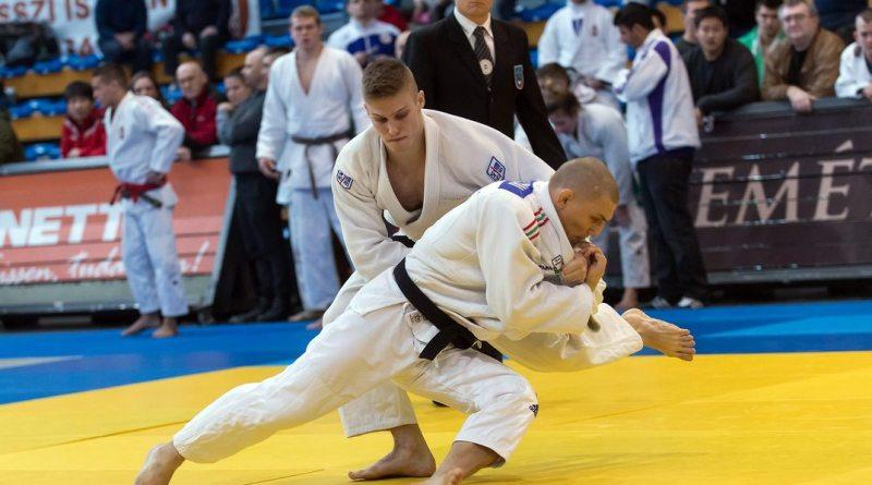Csoknyai László a kecskeméti ob-n. Fotó: judoinfo.hu