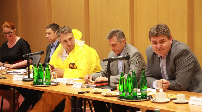 A fenntartható fejlődés bizottsága kihelyezett ülése Pakson. Fotó: Vida Tünde/Paksi Hírnök