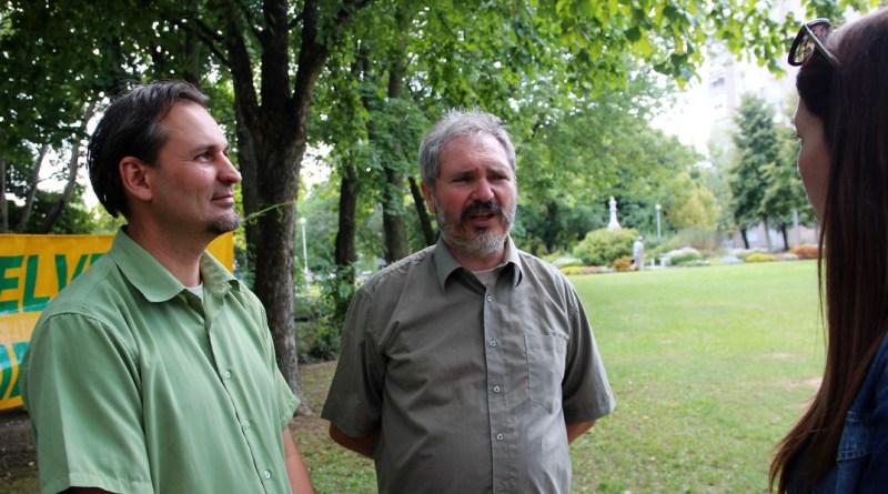 Barna Zoltán és Medveczki Zoltán. Fotó: Vida Tünde
