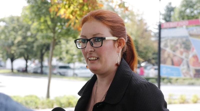 Heringes Anita (MSZP) országgyűlési képviselő. Fotó: Molnár Gyula/Paksi Hírnök