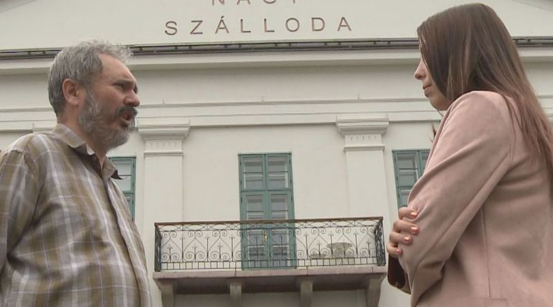 Medveczki Zoltán polgármesterjelölt. Fotó: TelePaks