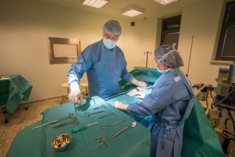 A gyógyászati központ egynapos sebészete. Fotó: Babai István