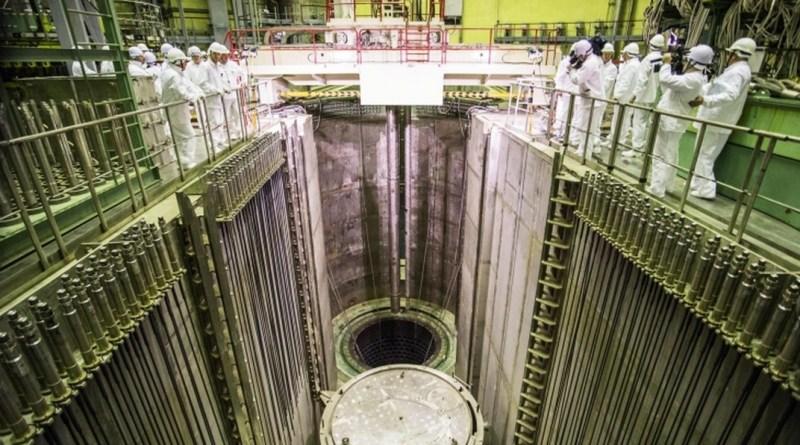A Leningrádi Atomerőmű napokban hálózatra kapcsolt reaktora. Fotó: atomenergiainfo.hu