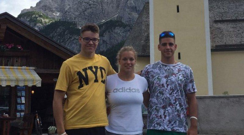 Az ASE sportolói az olaszországi Auronzóban versenyeztek. Fotó: ase.hu