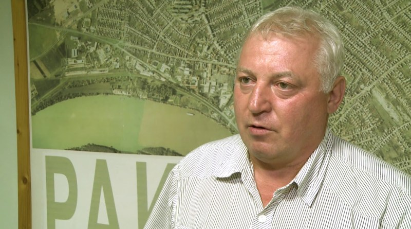 Ulbert Sándor, a KDNP paksi szervezetének elnöke. Fotó: Paksi Hírnök archív