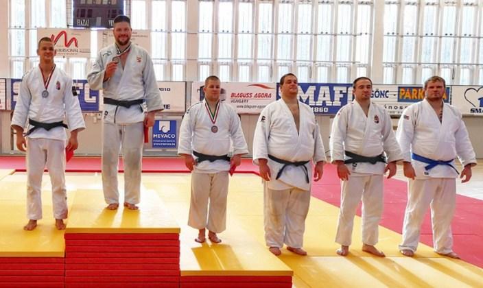 Bor Barna abszolút magyar bajnok. Fotó: judoinfo.hu