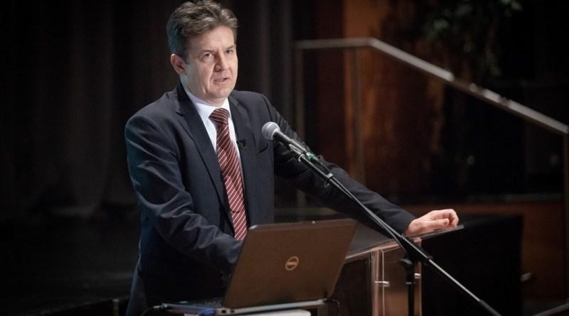 Dr. Aszódi Attila, a Paksi Atomerőmű kapacitásának fenntartásáért felelős államtitkár. Fotó: Paks II. Zrt.