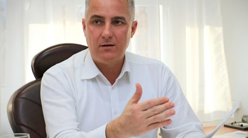 Mittler István, a Paks II. Atomerőmű Zrt. kommunikációs igazgatója. Fotó: Paks II. Zrt.
