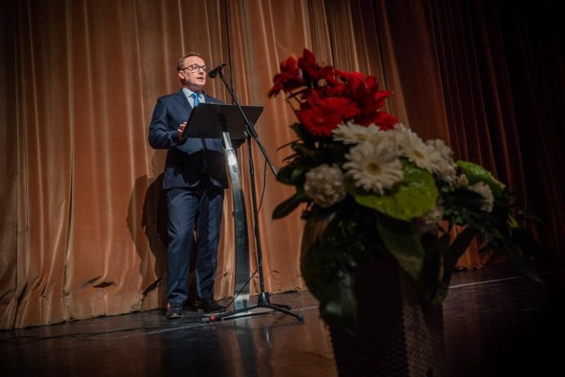 Szabó Péter, Paks polgármestere. Fotó: Babai István