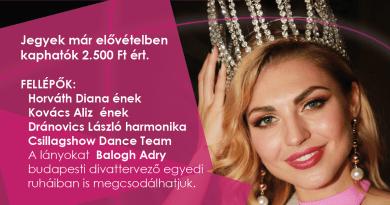 Miss Alpok-Adria szépségverseny a hétvégén