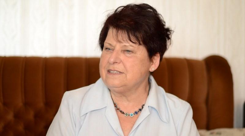 Németh Lászlóné. Fotó: Szaffenauer Ferenc/Paksi Hírnök