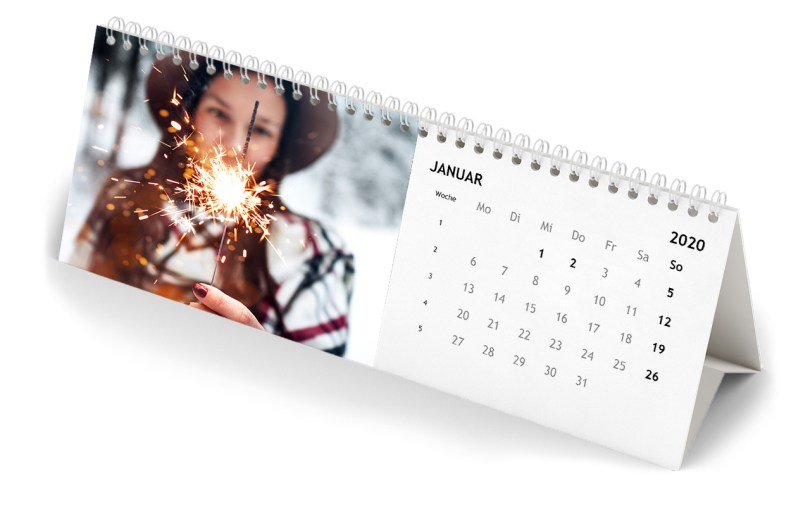 Personalized year 2020 calendar