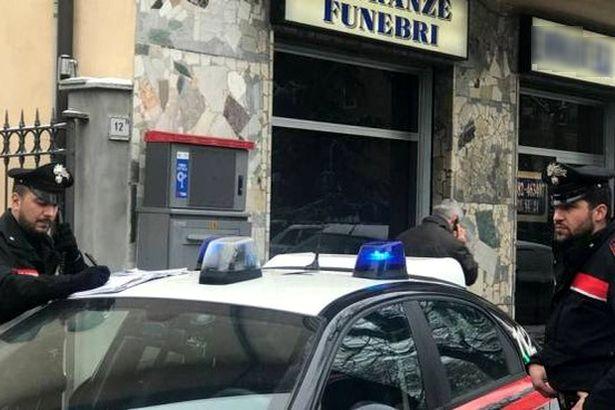 S. Maria la Fossa: 'Caro estinto'. due arresti eccellenti per tentata corruzione e concorrenza illecita con rituali mafiosi
