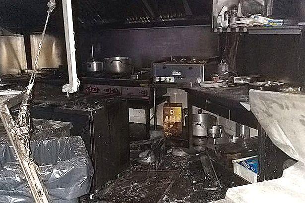 Ruviano. Fiamme al ristorante-pub 'Gustoso': fornetto non spento? fiamme domate dal titolare