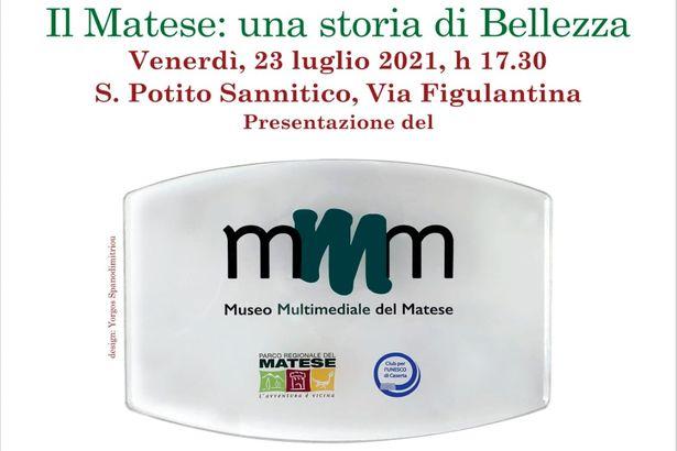 S.Potito Sannitico. Museo Multimediale del Matese, venerdì l'inaugurazione con Christiane Filangieri e Luca Signorini