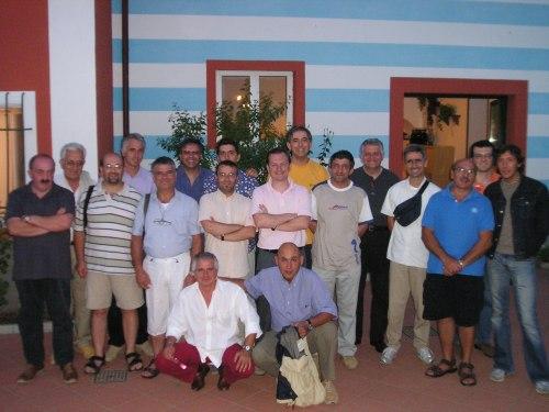 Foto di gruppo di alcuni tecnici