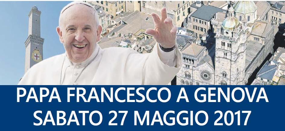 Resultado de imagem para O Papa em Génova: