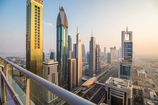 Downtown Dubai del Aire