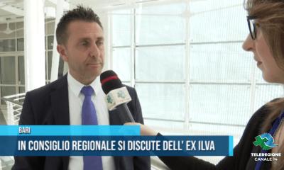 In Consiglio regionale si discute dell'ex Ilva