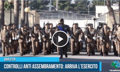 assembramento esercito barletta