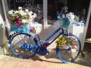Una delle biciclette del concorso