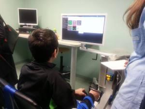 Nella foto il nuovo strumento per la riabilitazione.