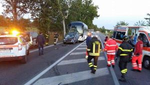 Incidente sull'Aurelia al km. 29