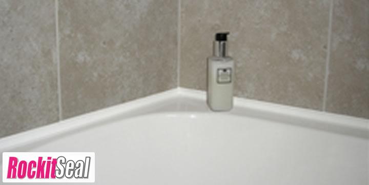 modern slim line bath and shower seals