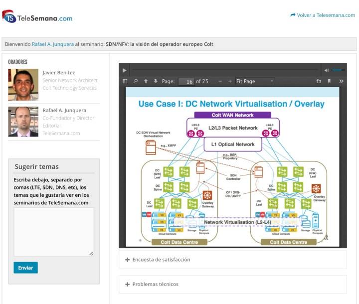 Plataforma webinars