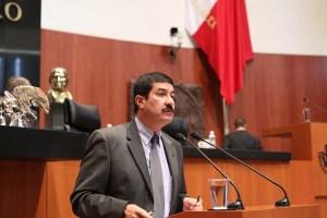 Senador Javier Corral Jurado (PAN). Imagen: Senado de la República.