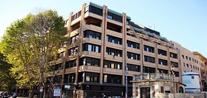 Sede de Telecom Italia en Roma. Imagen: Telecom Italia.